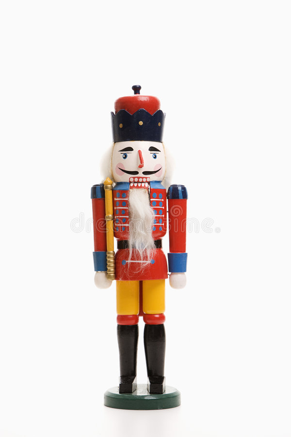 Toy soldier. Still life of Christmas toy soldier royalty free stock photography