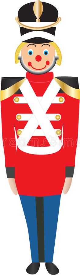 Toy Soldier illustration stock