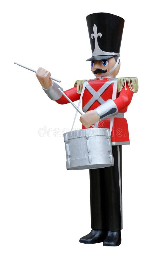 Toy Soldier Drummer royalty free stock image