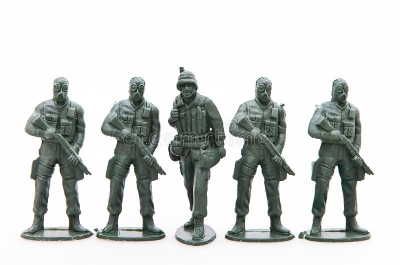Toy Soldiers stock fotografie