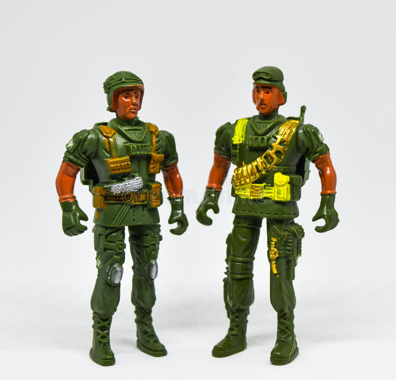 Toy Soldiers imagem de stock royalty free