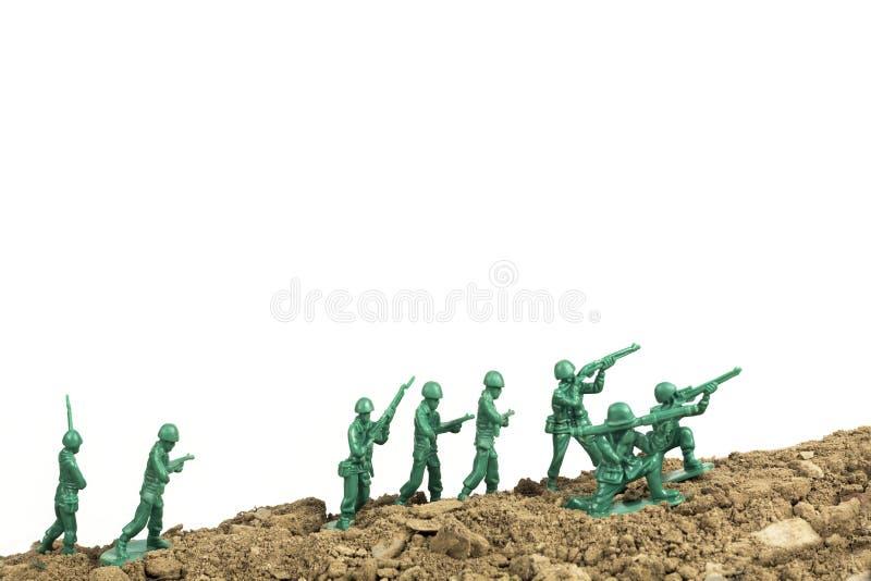 Download Toy Soldiers War stock foto. Afbeelding bestaande uit bewapend - 54091364