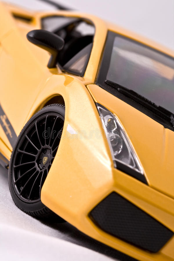 Free Toy Sport Car Stock Photography - 12456172