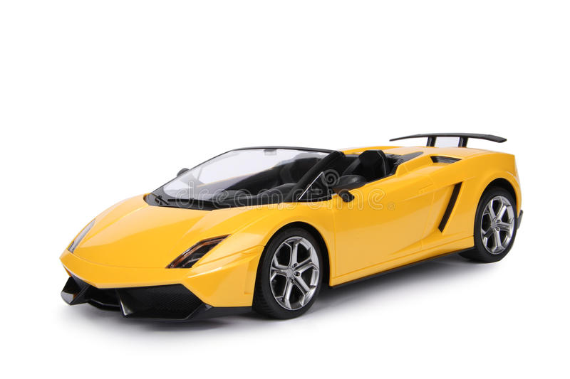 Toy sport car model royalty free stock images