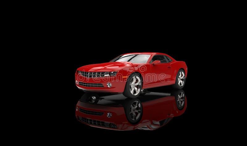 Toy Sports Car Red ilustração do vetor