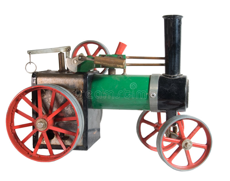 Download Toy Steam Engine stock photo. Image of threshing, live - 3593624