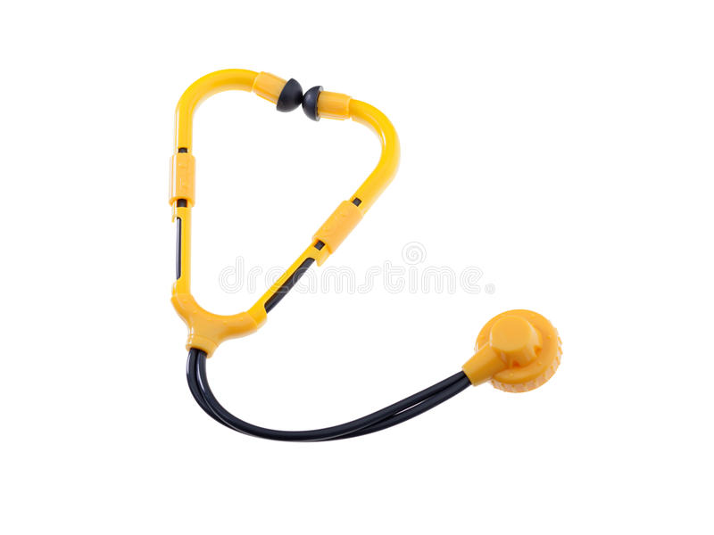 Download Toy Stethoscope Isolated stock photo. Image of doctor - 30696126