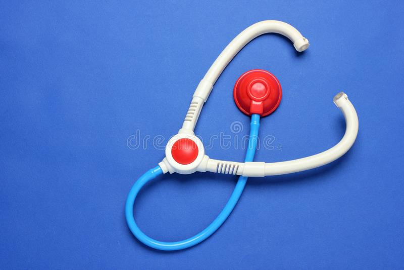Toy Stethoscope imagem de stock