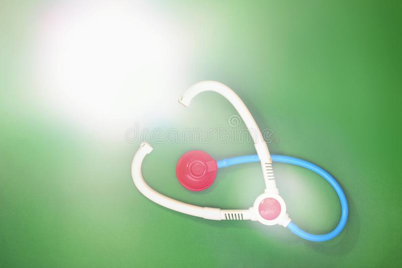 Toy Stethoscope foto de stock royalty free
