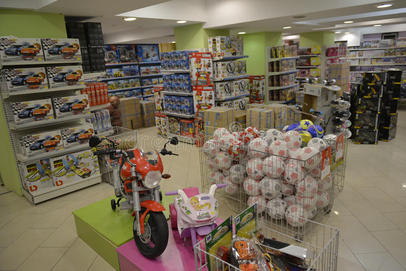 Toy Store fotografering för bildbyråer