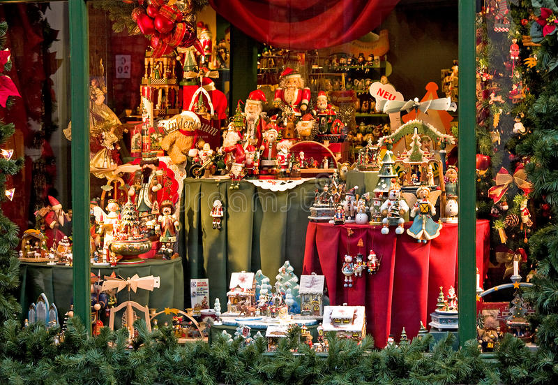 Toy store in Bruges, Belgium royalty free stock photography
