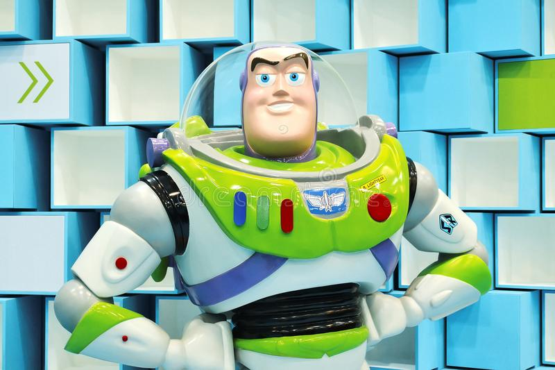 Toy Story Buzz Lightyear royaltyfria bilder