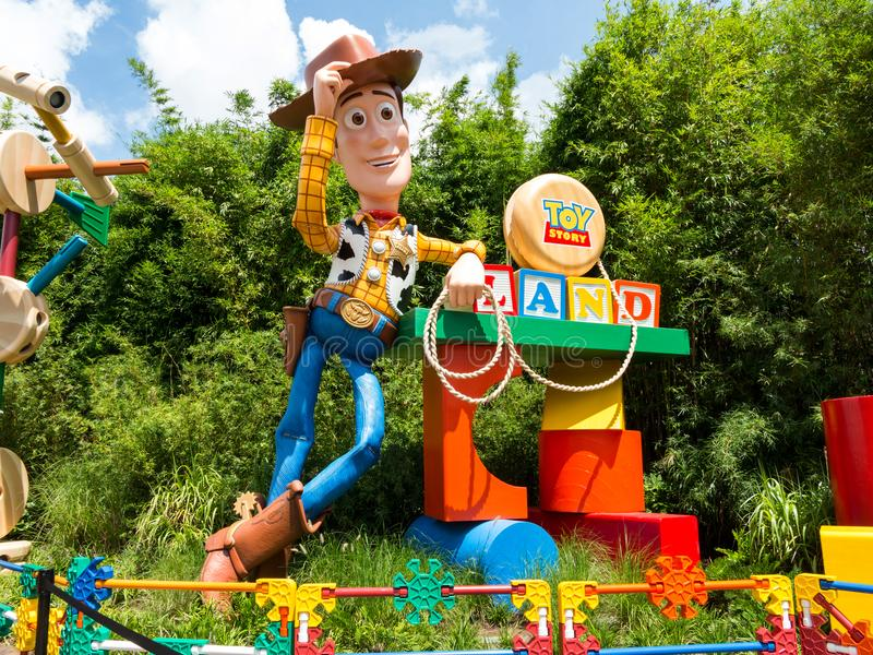 Toy Story Land royalty-vrije stock afbeeldingen