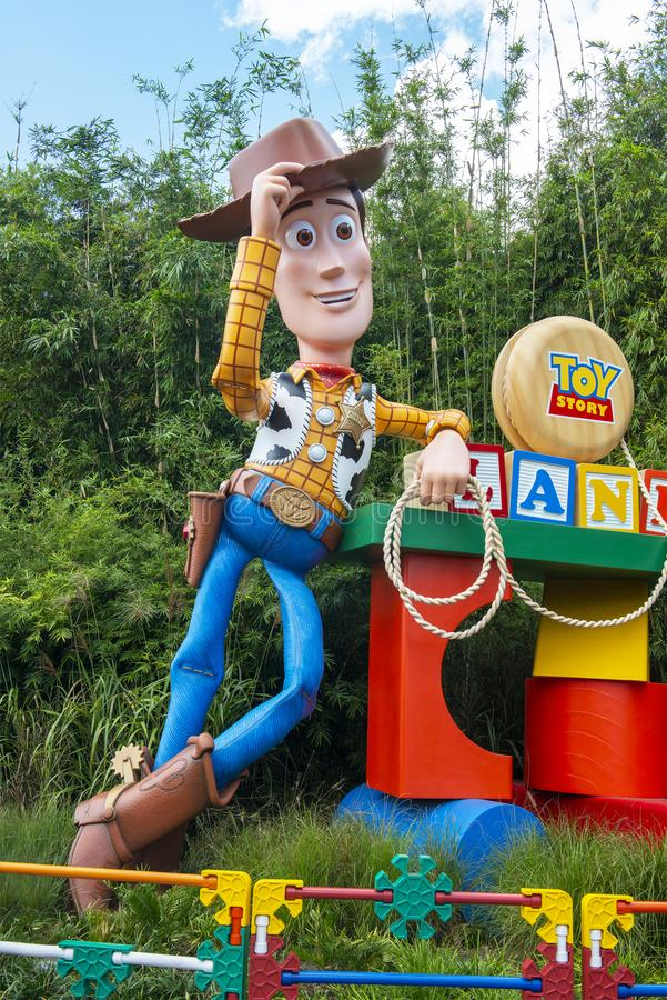 Toy Story Land, Woody, Disney World images libres de droits
