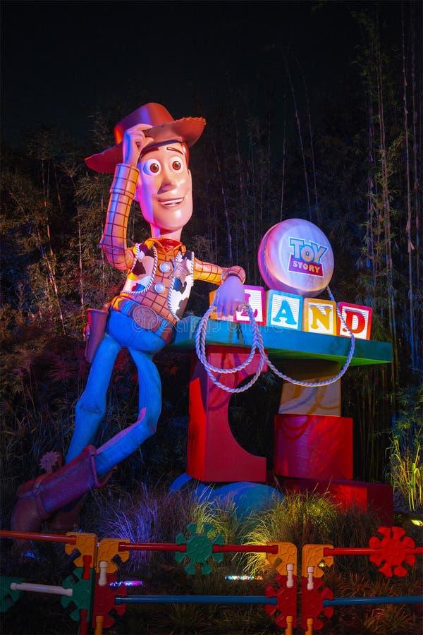 Toy Story Land, Woody, Disney World stock image