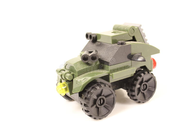 Toy Tank. Royalty Free Stock Photography