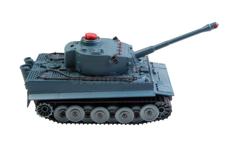 Toy Tank Isolated royalty-vrije stock fotografie