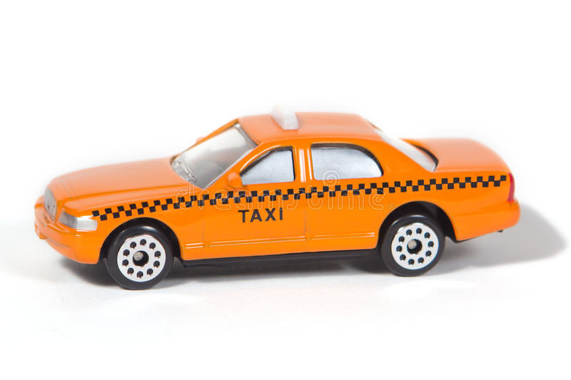 Toy Taxi Cab royaltyfria foton