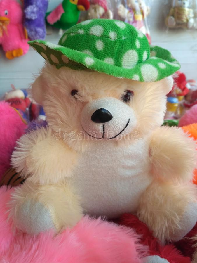 Toy teddy royalty free stock photography
