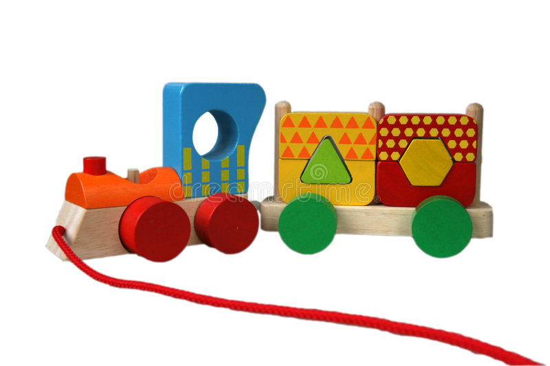 Download Toy train stock image. Image of shape, colour, circle - 1509561