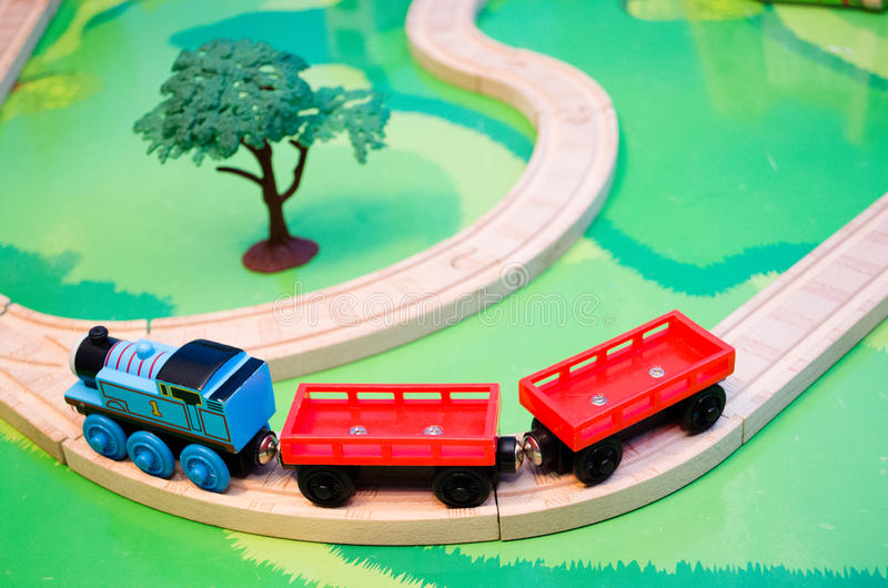 Toy Train Set photographie stock libre de droits