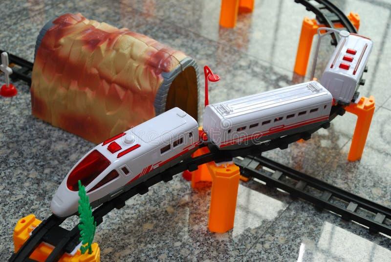 Toy Train Setup foto de stock royalty free