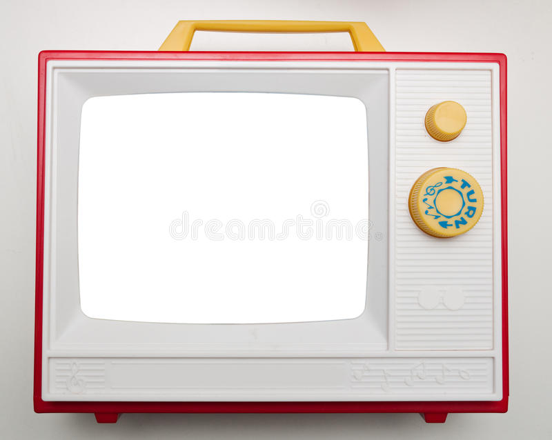Download Toy TV stock image. Image of portable, television, tele - 12498955