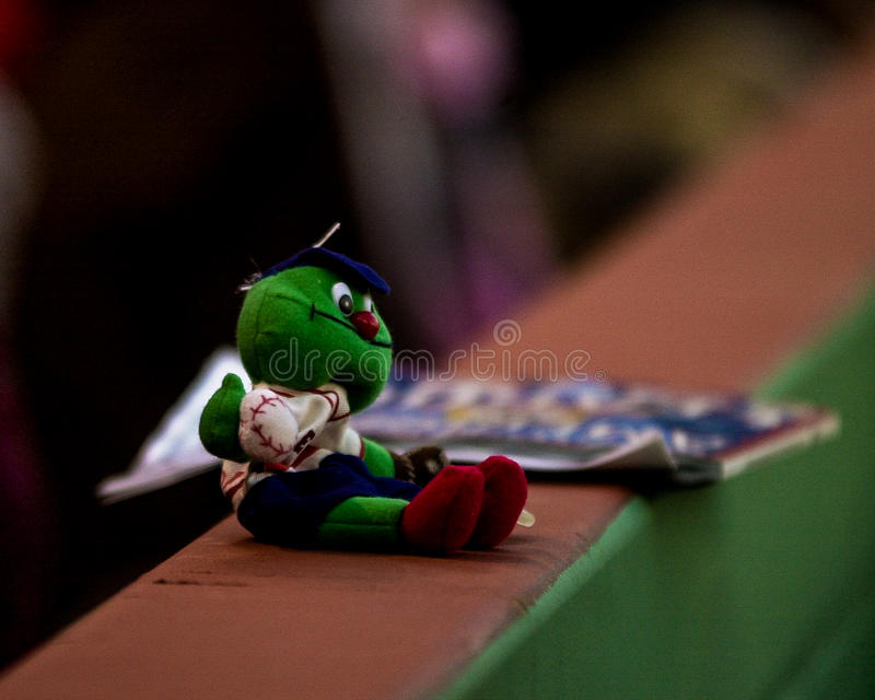 Toy Wally The Green Monster immagine stock