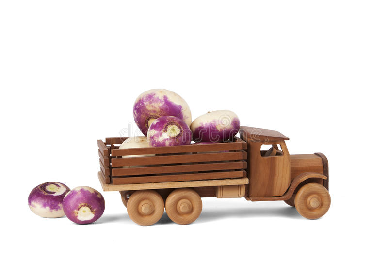 Toy Wooden Turnip Truck photos stock