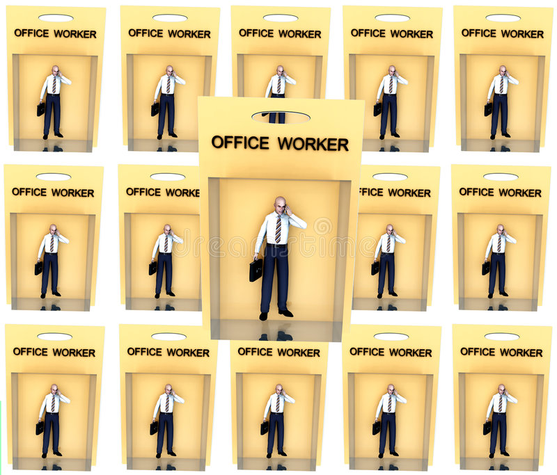 Download Toy Worker stock illustration. Illustration of little - 2344628