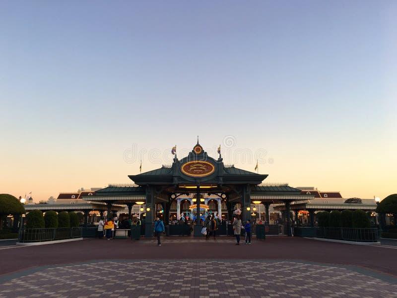 toyko Disneyland stock foto's