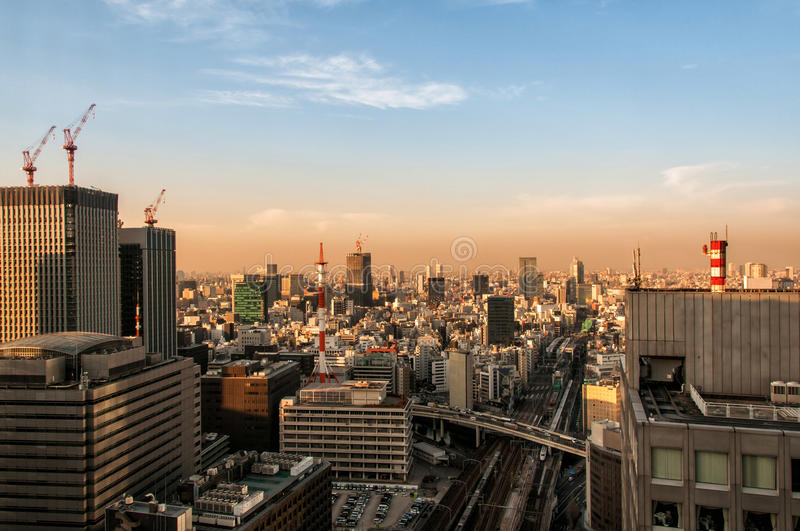 Download Toyko Morning stock photo. Image of rails, capital, morning - 23614996