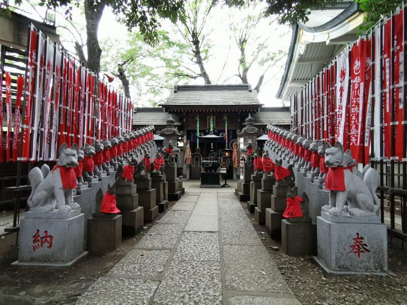Toyokawa Inari Tokyo Betsuin royalty free stock image