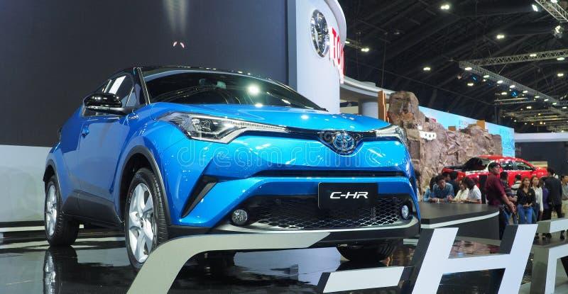 Toyota γ-ωρ. στη διεθνή μηχανή EXPO 2017 της 34ης Ταϊλάνδης στοκ εικόνες
