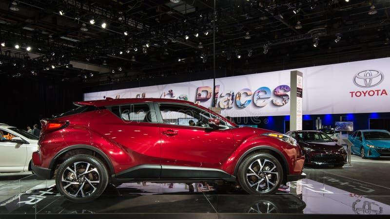 2018 Toyota γ-ωρ. στοκ φωτογραφίες με δικαίωμα ελεύθερης χρήσης