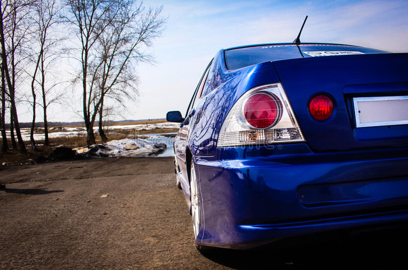 Toyota Altezza stockbilder