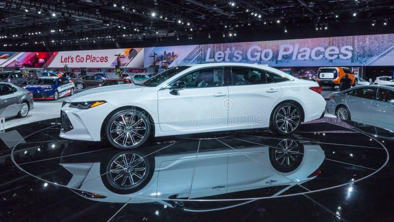 Toyota 2019 Avalon, NAIAS photos libres de droits