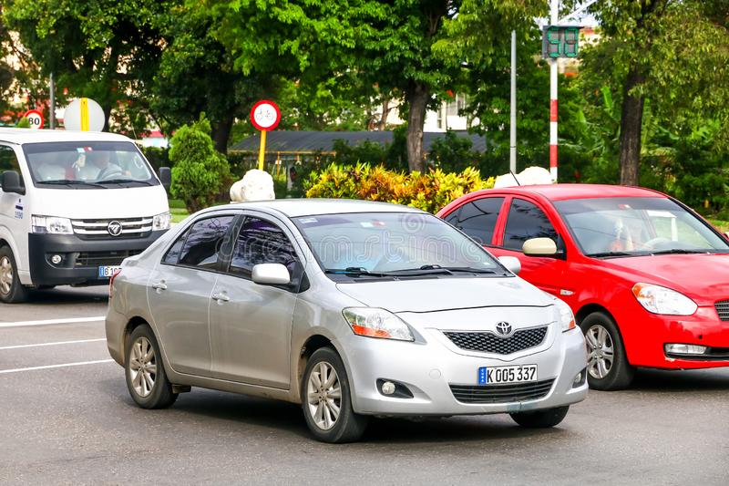 Toyota Belta fotografia royalty free