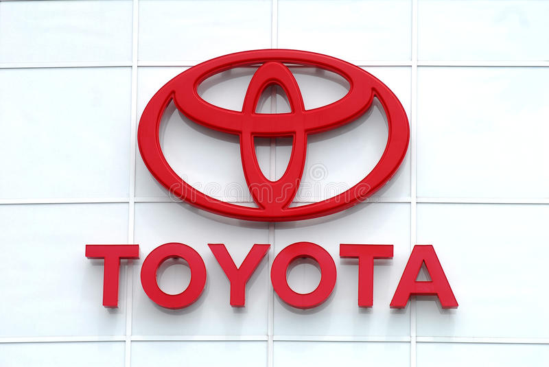 Download Toyota Brand logo editorial photography. Image of horizontal - 20321892