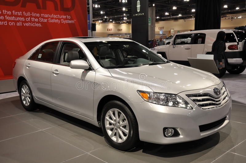 Toyota Camry. On display at the Arizona International Auto Show on November 25, 2010 in Phoenix, Arizona stock photography