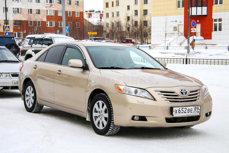 Toyota Camry lizenzfreies stockfoto