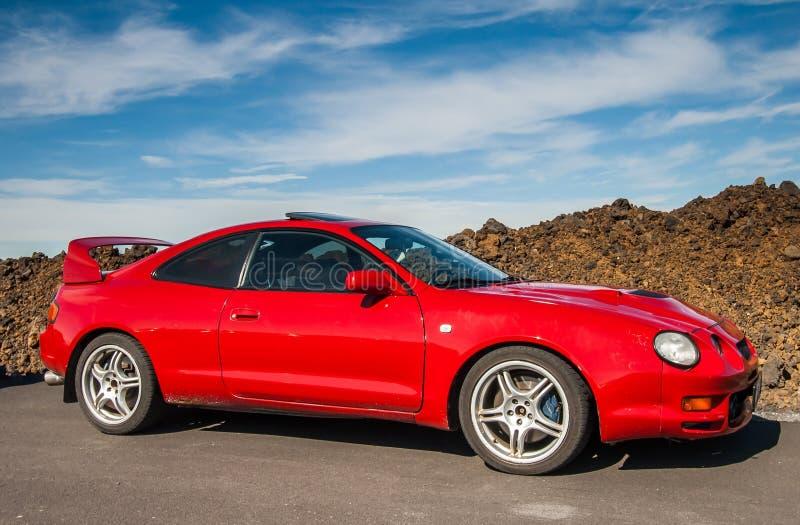 Toyota Celica obraz royalty free