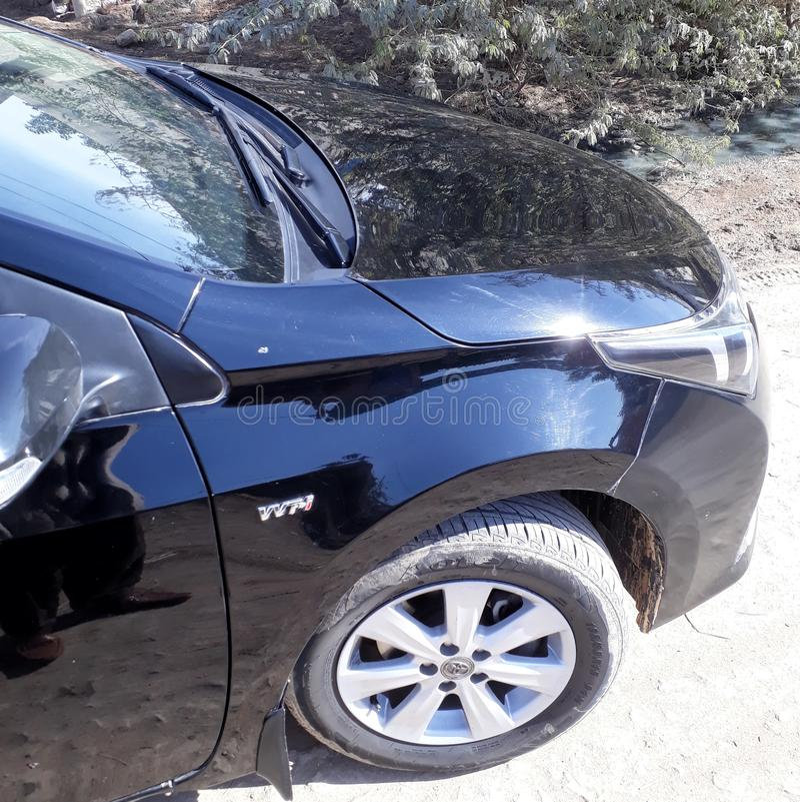 Toyota Corolla 免版税库存图片