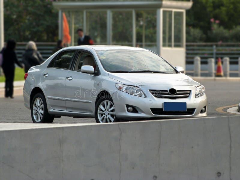 Toyota corolla royalty free stock photos