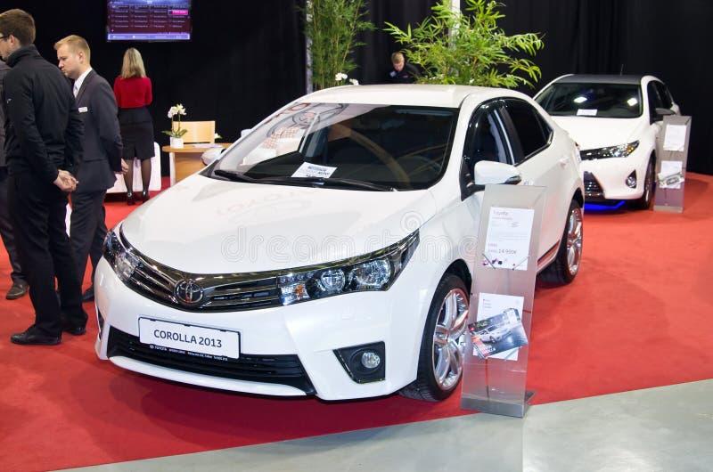 Toyota Corolla fotografering för bildbyråer