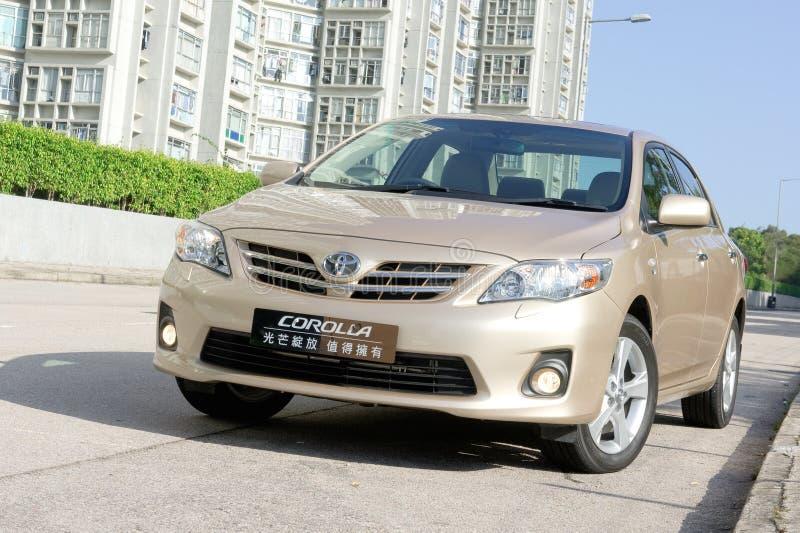 Toyota Corolla fotografia de stock