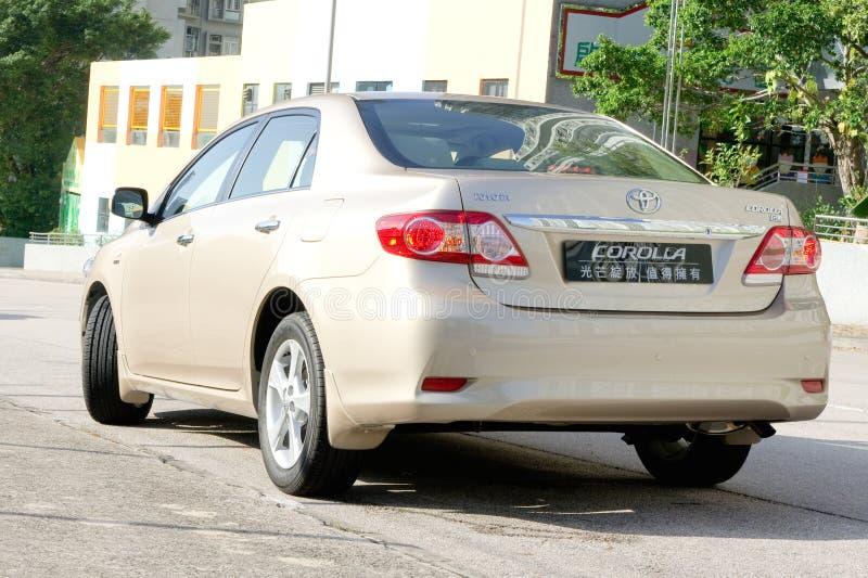 Toyota Corolla imagem de stock royalty free