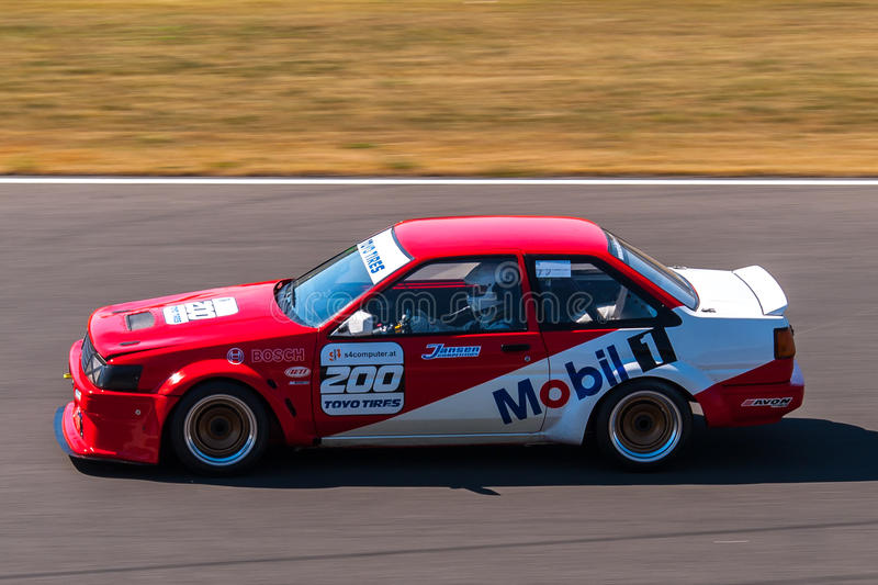 Toyota Corolla Ae86 Race Car Editorial Photography Image 39060452