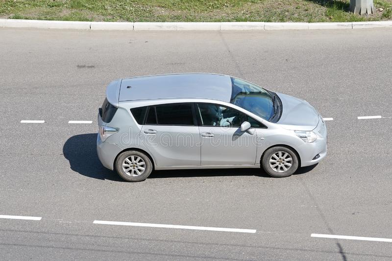 Toyota Corolla baksida arkivbilder