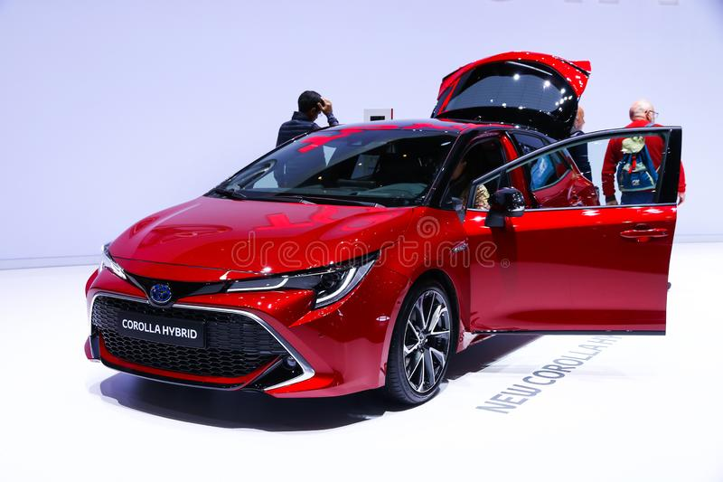 Toyota Corolla imagens de stock royalty free